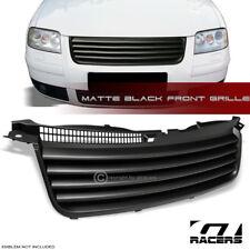Matte Black For 2001-2005 Vw Passat B5.5 Horizontal Front Bumper Grill Grille