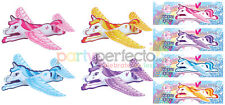 6 Unicorn Gliders - Pinata Toy Loot/Party Bag Fillers Wedding/Kids Childrens