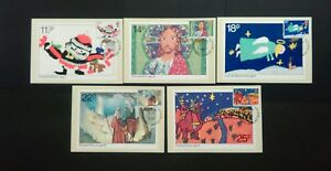 1981 CHRISTMAS STAMPS P.H.Q. CARDS WITH A CHURCH OF ST. MARY-AT-HILL F.D.I.