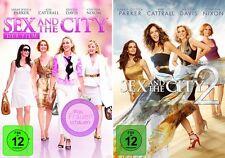 2 DVDs * SEX AND THE CITY - SPIELFILME 1 & 2 IM SET - S. J. Parker # NEU OVP