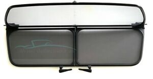 Genuine BMW 6 Series E64 Convertible Wind Deflector Windschott & Bag Immaculate