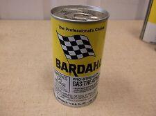 Vintage 1960's70'S Gas & Oil Collectible NOS BardahL gas treatment 11oz.tin Can