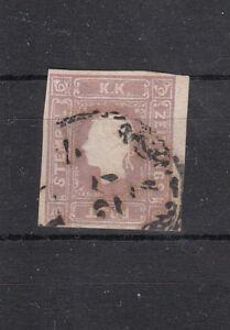 Österreich  Nr. 16e, violett, gestempelt (700.- ANK), nicht angeschnitten
