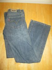 "Womens LEVIS 572 Bootcut W27"" L32"" Blue Denim Jeans - Good Condition"