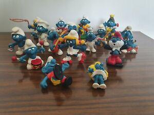 Vintage/Retro Collectible Smurf Figurines
