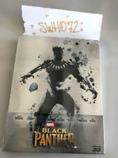 Black Panther Limited Steelbook (blu-ray 3d Blu-ray) Walt Disney