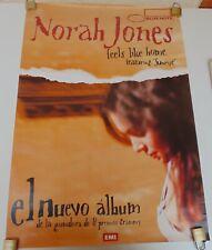 NORAH JONES FEELS LIKE HOME  ORIGINAL POSTER EMI MUSIC COLOMBIA 2004