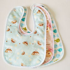 1Pc New Baby Boys Girls Water-proof Bibs Newborn Infant Double Layer Burp Cloths