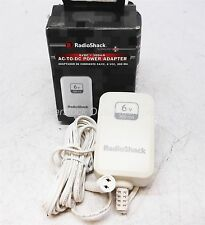 RadioShack 6VDC 300mA AC-to-DC Power Adapter Filtered Output #273-025 100-240VAC