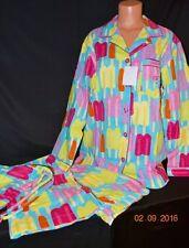 Victorias Secret After The Party Flannel 3pc Pajama Set Pajamas NWT M