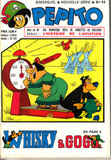 PEPITO NOUVELLE SERIE N° 11 DE 1965 EDITIONS  SAGE TRES BON ETAT