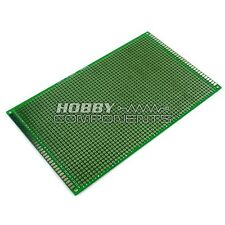 HOBBY COMPONENTS LTD Double-Sided Glass Fiber Prototyping PCB Board (9 x 15 cm)