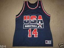 Alonzo Mourning #14 US Olympics Champion Miami Heat Jersey 48