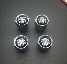 4PCS  Autobots Tire Wheel Rims Stem Air Valve Caps Tyre Cover Car Truck Bike