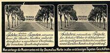 Damast- & Saluba Tapeten Fa.Tekko  Annonce 1906
