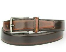 "Zara Vintage Retro Weather Leather Wine Dark Brown Belt Size 95cm 34""-36"" Pants"