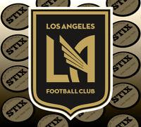 LAFC Logo MLS Color Die Cut Vinyl Sticker Car Window Hood Bumper Decal