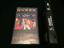 QUEEN LIVE IN BUDAPEST AUSTRALIAN VHS VIDEO