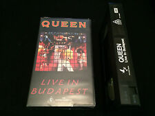QUEEN LIVE IN BUDAPEST AUSTRALIAN VHS VIDEO