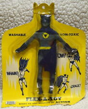 BATMAN FLEX-A-TOY BENDIE ACTION FIGURE 1966 - 67 RARE MOC UNOPENED