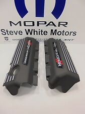 Challenger Charger 345 Hemi Engine Cover Valve Powered By Mopar Oem 2 Pcs Red