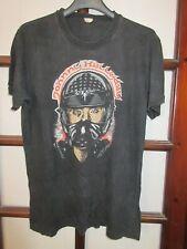 T-shirt JOHNNY HALLYDAY vintage casque moto S