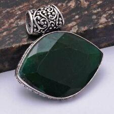 "Jewelry 1.8"" Ap 41395 Emerald Ethnic Handmade Pendant"