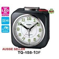 AUSSIE SELLER CASIO ALARM DESK CLOCK TQ158 TQ-158-1DF TQ-158 12-MONTH WARRANTY