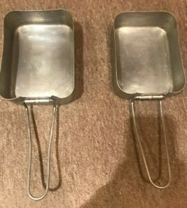 2 Genuine British Army Issue Mess Tins Camping Stove Hiking Bushcraft Survival
