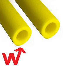 10x Scaffold Pole Foam Protection, 2m long - High Visibility Yellow, Brand New