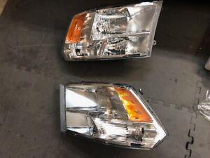Dodge RAM 1500 - 2009 to 2018; 2019 1500 Classic OEM Headlights