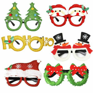 Christmas  Glasses Snowman Eyeglasses Cosplay Kid Xmas Party Decoration & Gifts