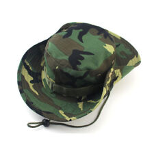 Unisex DPM Bucket Hat  Hunting Fishing Outdoors  Paint Ball - Wide Brim Military
