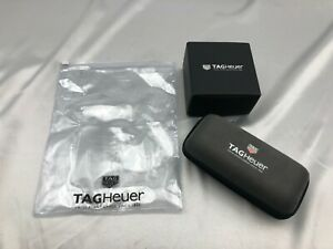 Genuine TAG Heuer Watch Box Empty Case Travel Pouch 2set Authentic 1209005 A178