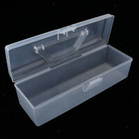 Plastic Clear Suitcase Storage Box Display Case Fits for 1/6 12inch Dolls