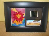 Film Cell Genuine 35mm Framed*Matted Disney*LION KING*SIMBA*Minicell photo