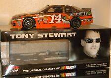 2015 TONY STEWART #14 BASS PRO SHOPS COLOR CHROME 1/24 CAR#105 120 MADE NICE CAR