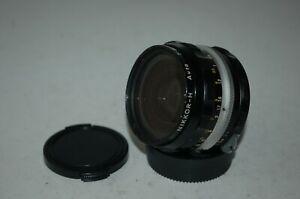 Nikkor-H Auto Japanese 3.5 / 28 mm SLR Lens. Nikon Mount. Caps. 686307. UK Sale