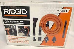"Ridgid VT2534 7-Piece 1-1/4"" Auto Detailing Kit for Ridgid Wet/Dry Vacs - NEW"