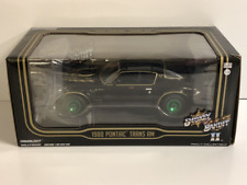RARE Smokey and the Bandit II 1980 Pontiac Trans AM Greenlight 1:24 84031