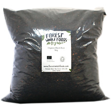 Biologique Noir Riz 10kg - Forest Whole Foods