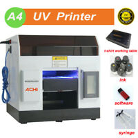 A4 UV Printer Epson R330/L800 Printer Head For Flat &T-shirt Working Table