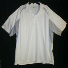 Izod XFG X-treme Function Golf Polo Shirt White XL EUC