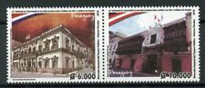 Paraguay 2018 MNH Diplomatic Relations with Peru 2v Set Architecture Stamps