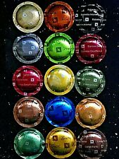 """NESPRESSO PRO PODS X 255 CAPSULES """"TOTAL SELECTION PACK"""" 17 X ALL 15 FLAVOURS"""
