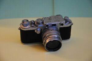 Appareil photos leica  III F de 1953 /Objectif Leitz sumarit f-5cm 1: 1,5 de1952
