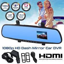 1080p HD in SPECCHIO AUTO telecamera retrovisione monitor Smart Cam DVR RECORDER DASHBOARD