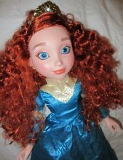 "Disney Princess & Me Merida Brave Doll 18"" Crown Jewel Edition Jakks Pacific"