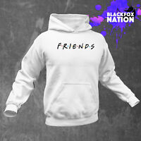 Friends TV Show Logo Hoodie Tumblr Clothing Unisex Long Sleeve Printed Pullover
