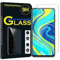 Vitre De Protection Écran Film Verre Trempe Xiaomi Redmi Note 9S/ Note 9 Pro